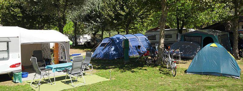 kamperen italie