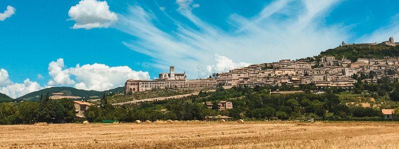 vakantie Assisi